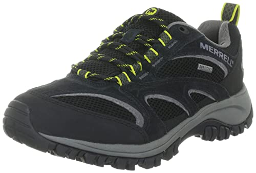 Merrell Phoenix Gore-Tex, Men's Lace-Up Trekking and Hiking Shoes - Black