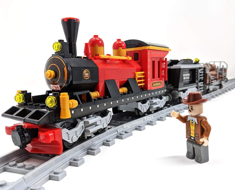 Lego Eisenbahn 2 rote Gittermasten