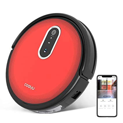 COAYU C560,Upgraded,Robotic Vacuum Cleaner with Panoramic Camera,Sweep and  Mop 2 in 1,App Control,Self-Docking,for Hard floors to Low-Pile