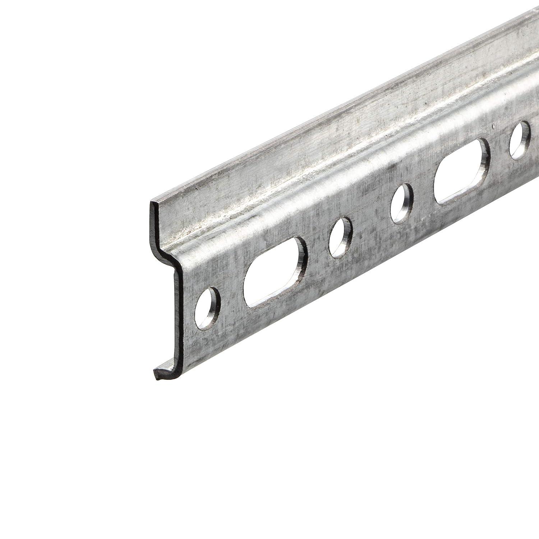 Wand-Schiene ohne Schrauben Metall Montageschiene mit L/änge 2000 mm 1 St/ück Tragkraft 240 kg H/änge-Schr/änke /& K/üche Stahl verzinkt Gedotec H/ängeschiene Schrank-Aufh/änger Aufh/ängeschiene