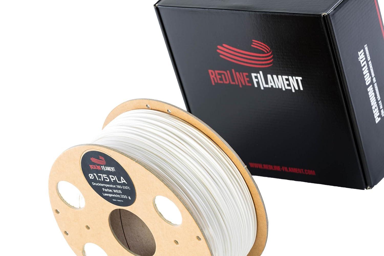 Filament 1.75 PLA 1kg fü r deinen 3D-Drucker - Hartkartonspule - Premium Qualitä t aus Holland (Apfelgrü n) REDLINE FILAMENT GmbH