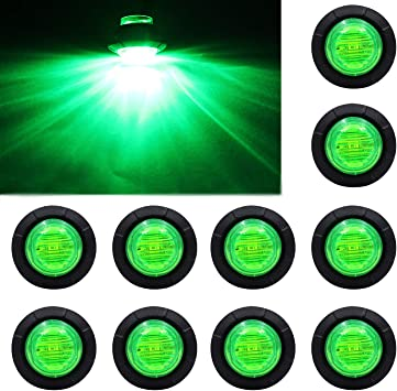 LED Car Truck Trailer Side Marker Indicators Light Lamp 12V Waterproof KS