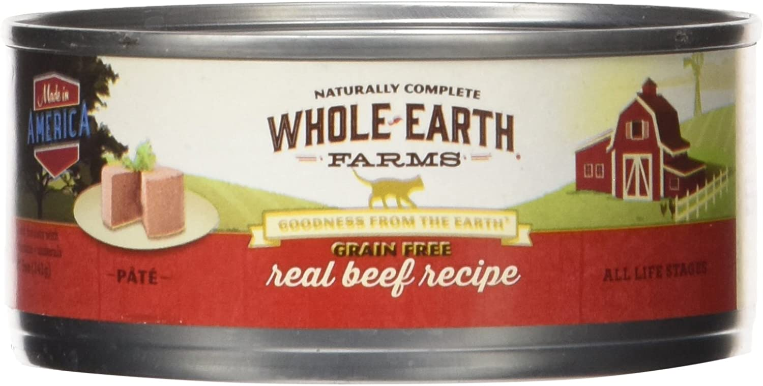 Whole Earth Farms Grain Free Real Beef Recipe, 1 Count, One Size