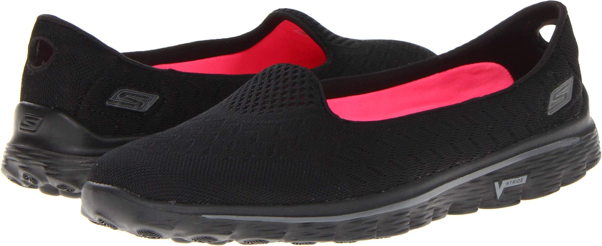Skechers Performance Women's Go Walk 2 Axis Slip-On Walking Shoe,Black,8 M US by Skechers