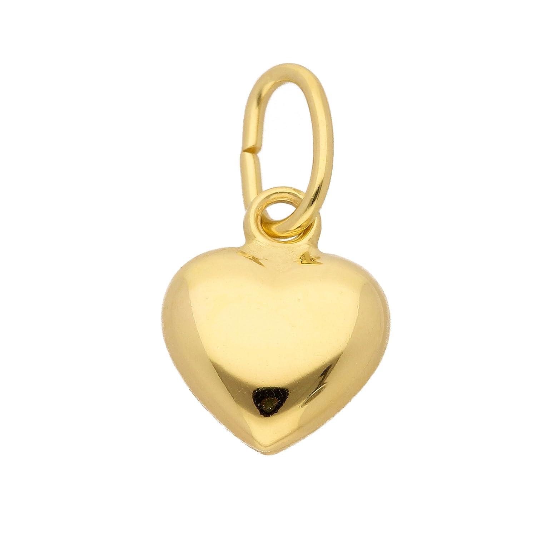 Gold Anhä nger Herz aus 333 Gelbgold MaMeMi 4045359240161