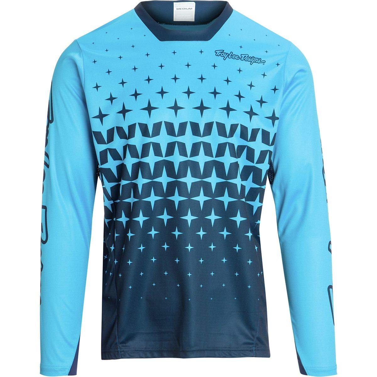 Troy Lee Designs Sprint Jersey - Men's Megaburst Ocean/Navy, S