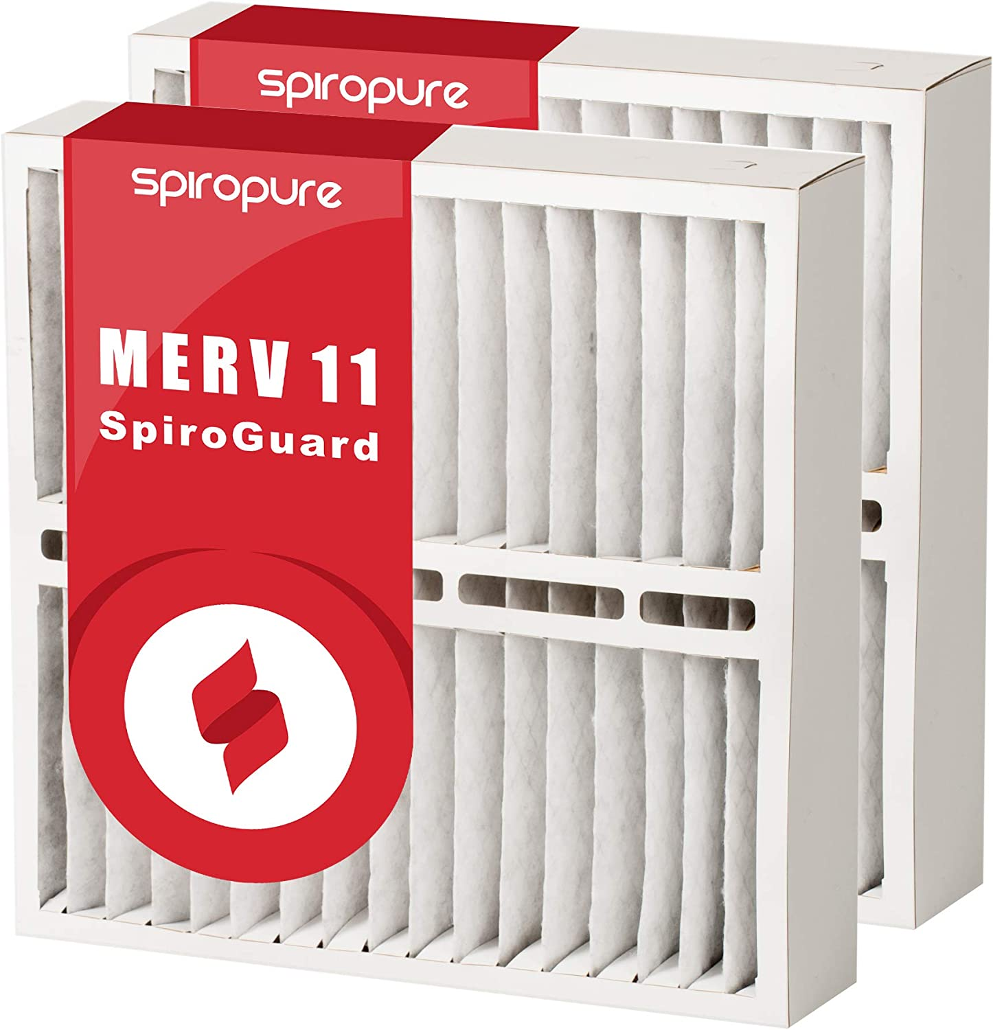 2 Pack 20x21x5 MERV 13 White-Rodgers FR1600-100 Aftermarket Filters