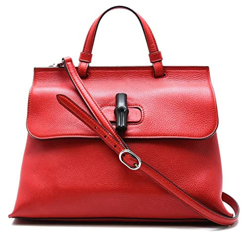 brand new 67516 75a4a Amazon   [グッチ] GUCCI バンブー デイリー レザートップ ...