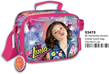 Soy Luna Disney Cooler Insulated Lunch Bag Food Drinks Box Container