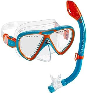 Cressi Kids Pegaso Iguana Mask Snorkel Set Combo-Cressi: Italian Quality Since 1946