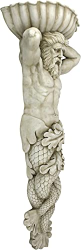 Design Toscano Atlantes God of The Sea Wall Sculpture Set of 2
