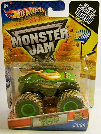 Amazon.com: Hot Wheels Monster Jam, Teenage Mutant Ninja ...
