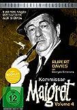 Kommissar Maigret, Vol. 4 / Weitere 9 Folgen der legendären Kultserie mit Rupert Davies nach dem Romanen von Georges Simenon (Pidax Serien-Klassiker) [3 DVDs]