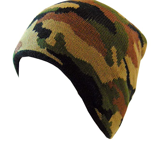 cf5e6e5ca1c Westman Works Camouflage Beanie Men s Winter Skull Hunting Cap Army ...