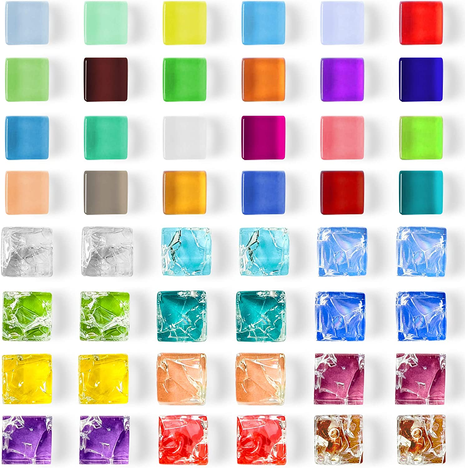 ZYNERY 48 PCS Glass Refrigerator Magnets/Fridge Magnets/Strong Office Magnets/Kitchen Colorful Magnets/Cute Decorative Magnets for Kids/Whiteboard/Pictures/Map/Adults, 36 Colors