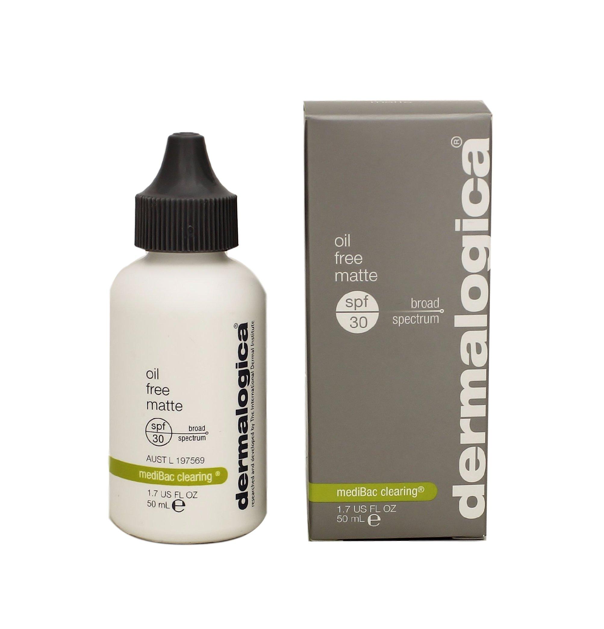Dermalogica Oil Free Matte Sunscreen Lotion SPF 30, 1.7 Fluid Ounce
