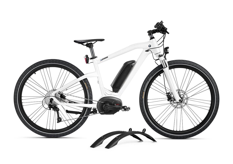 Bmw Genuine Cruise Electric Bike Bicycle Ebike Model 2016 Frozen Fat Brilliant White Black Size M Sports Outdoors