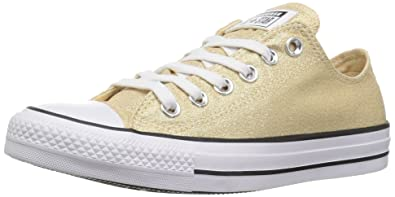 Converse Women s Chuck Taylor All Star Shiny Tile Low TOP Sneaker Light  Twine White  0c703729a4