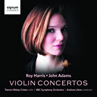 Roy Harris, John Adams: Violin Concertos