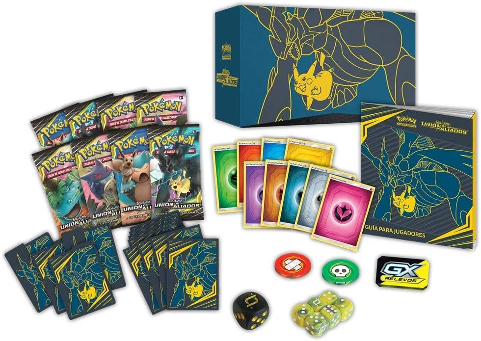 Pokemon JCC - Caja de Entrenador Élite Unión de Aliados, Español (POETTU01): Amazon.es: Juguetes y juegos