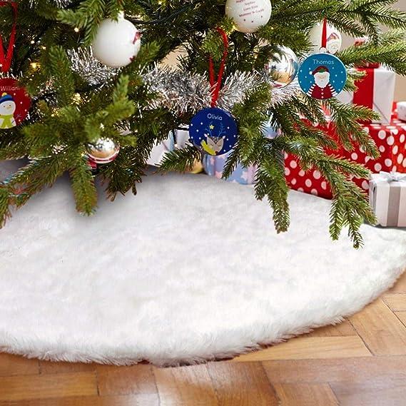 78cm Plüsch Weihnachtsbaum Rock Weihnachtsdeko Filz Baum Rock Christbaumdecke DE