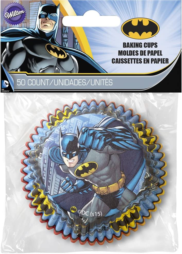 /Baking Cups Batman Lot de 50/caissettes en papier/