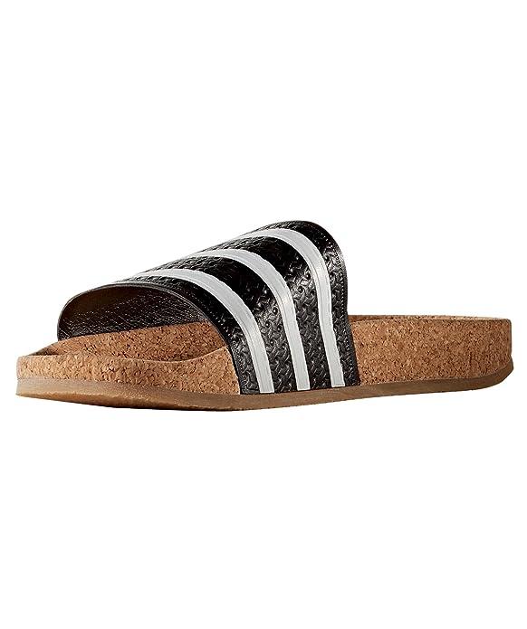 Cork Sandalen Schwarz153623 Damen Adilette Adidas Originals 8n0PNkXOw