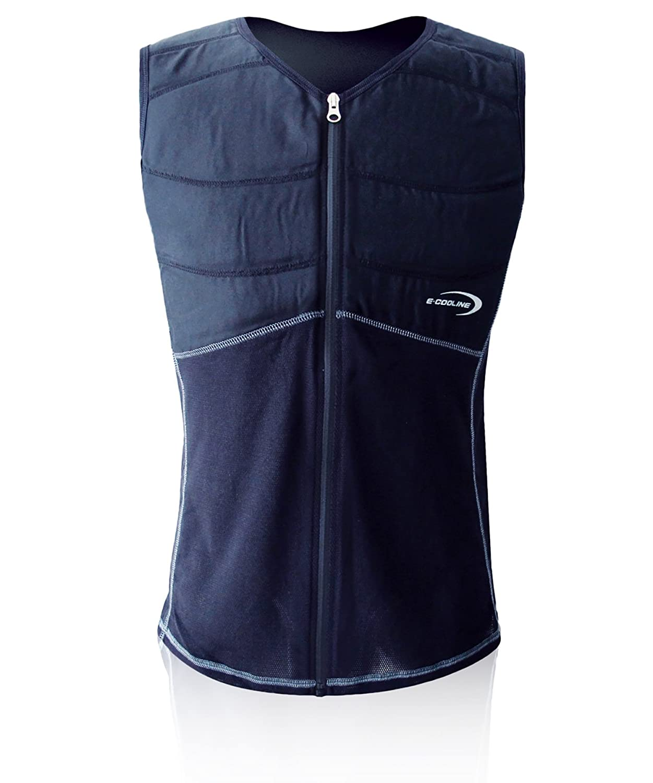 E.COOLINE Powercool SX3 ShirtWeste kühlend mit Nierenschutz Unisex-Erwachsene