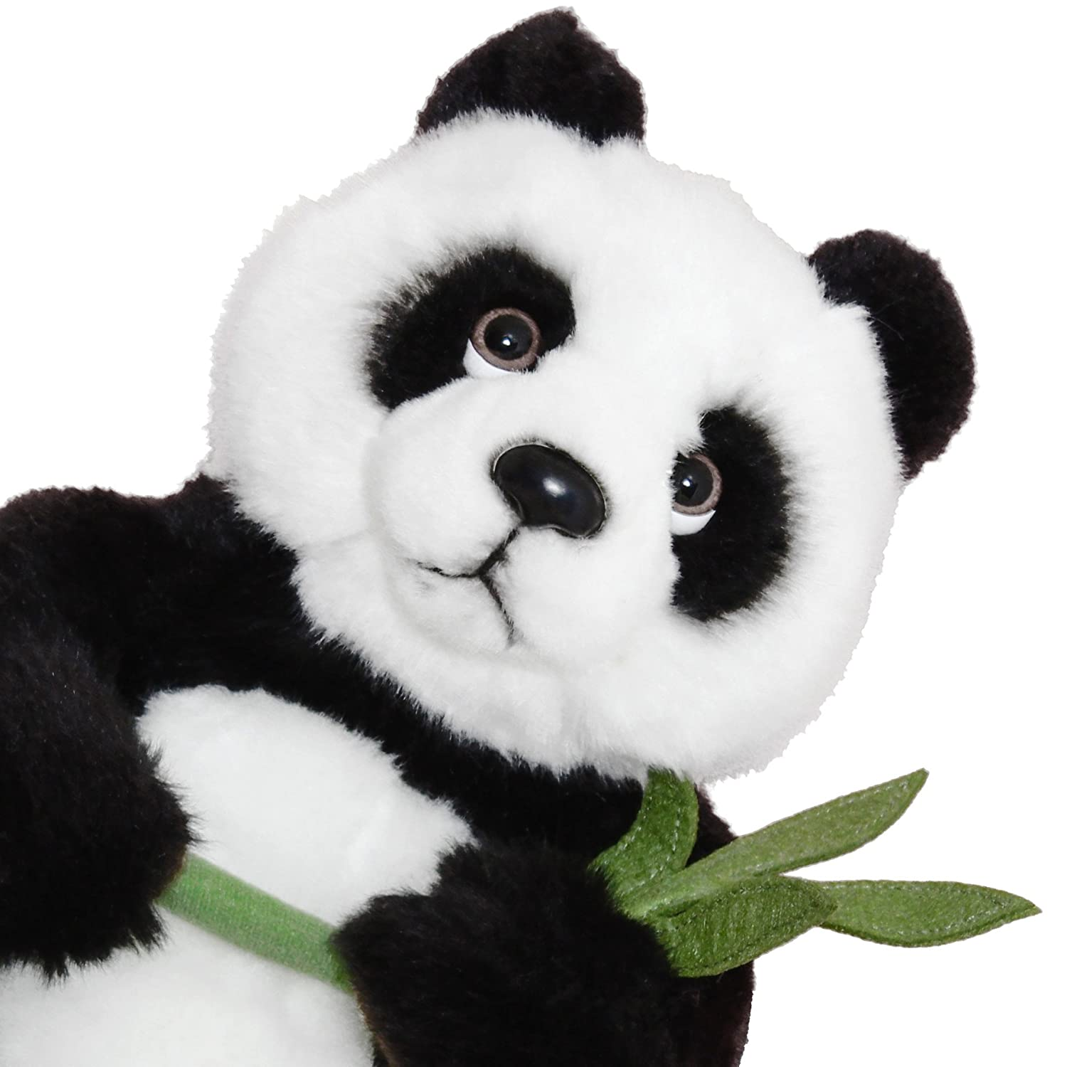 Amazon.com: BRUBAKER Panda Stuffed Animal with Bamboo - 11 Inches - Plush Toy - Soft Toy: Toys & Games
