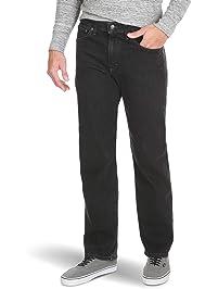 Wrangler Mens Big & Tall Relaxed Fit Comfort Flex Waist Jean Jeans