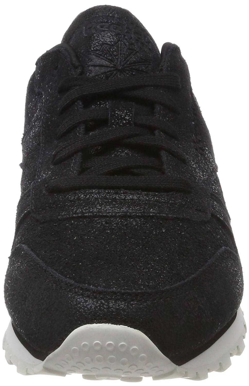 Reebok (schwarzchalk) Classic Leder Shimmer Sneaker Damen Schwarz (schwarzchalk) Reebok ec2dba