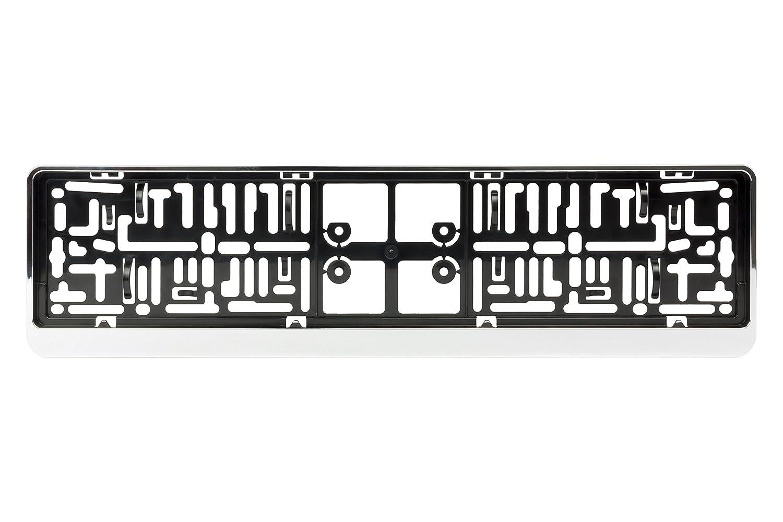 BC Corona EXT25212 Dacar 3D Porta Matricula, Cromado ABC Parts