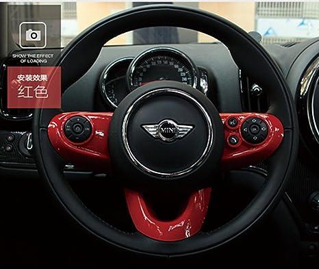 Amazon.com: LVBAO - Tapa para volante de ABS para Mini ...