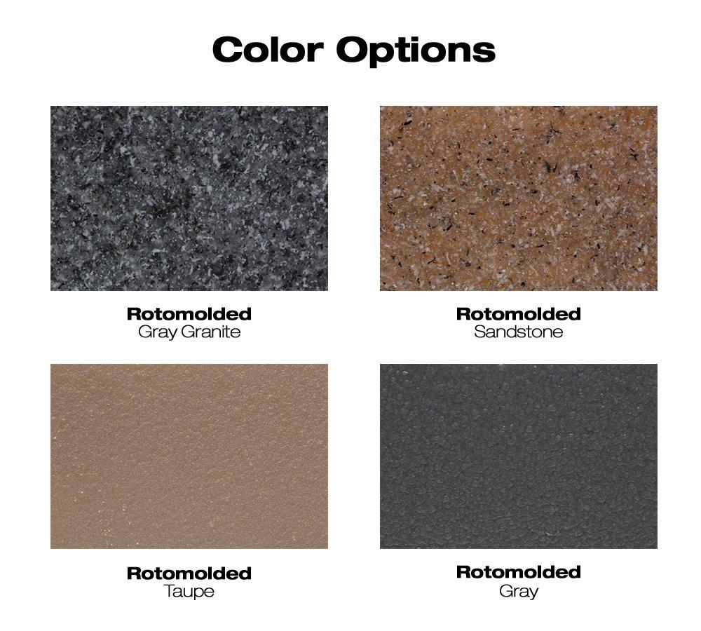 Gray Granite S.R.Smith heliX2 640-209-58124 S.R.Smith Pool Slide