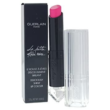 Guerlain La Petite Robe Noire Deliciously Shiny Lip Colour, 002 Pink Tie, 0.09 Ounce