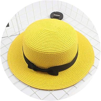 b9f563d4f51c2 Fashion Parent-Child Sun hat Cute Children Sun Hats Bow Hand Made Women  Straw Cap