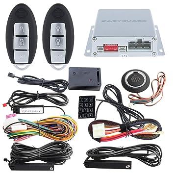 EasyGuard ec002-ni-ns FSK Technologie Rolling Code: Amazon.de ...