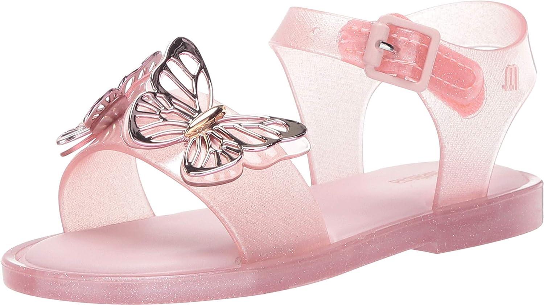 mini melissa Girl's Mar Sandal Fly BB (Toddler/Little Kid) Baby Pink