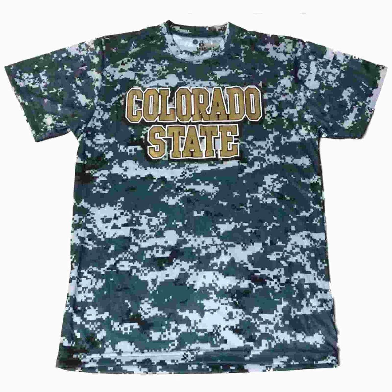 お見舞い Colorado State Rams BadgerスポーツYouthグリーンデジタルCamo State SS SS Tシャツ( M ) M B01M0DEH9O, サウンドアウトレット Bits:4523ca01 --- a0267596.xsph.ru