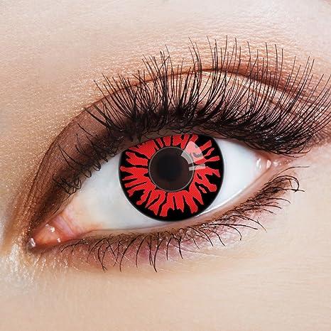 2c14571863 Lentes de contacto coloreadas Fire Rose de Aricona – que cubren las lentes  años para los
