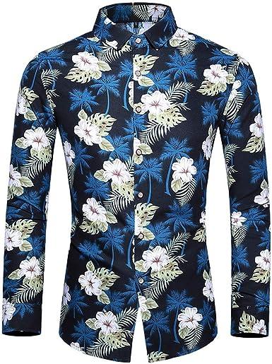 Poachers Camisas de Hombre de Vestir Camisas Hawaianas Hombre Cerveza Camisas Hombre Manga Larga Tallas grandesModa Casual: Amazon.es: Ropa y accesorios