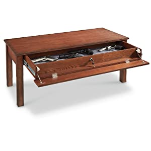 5. CASTLECREEK Gun Concealment Coffee Table