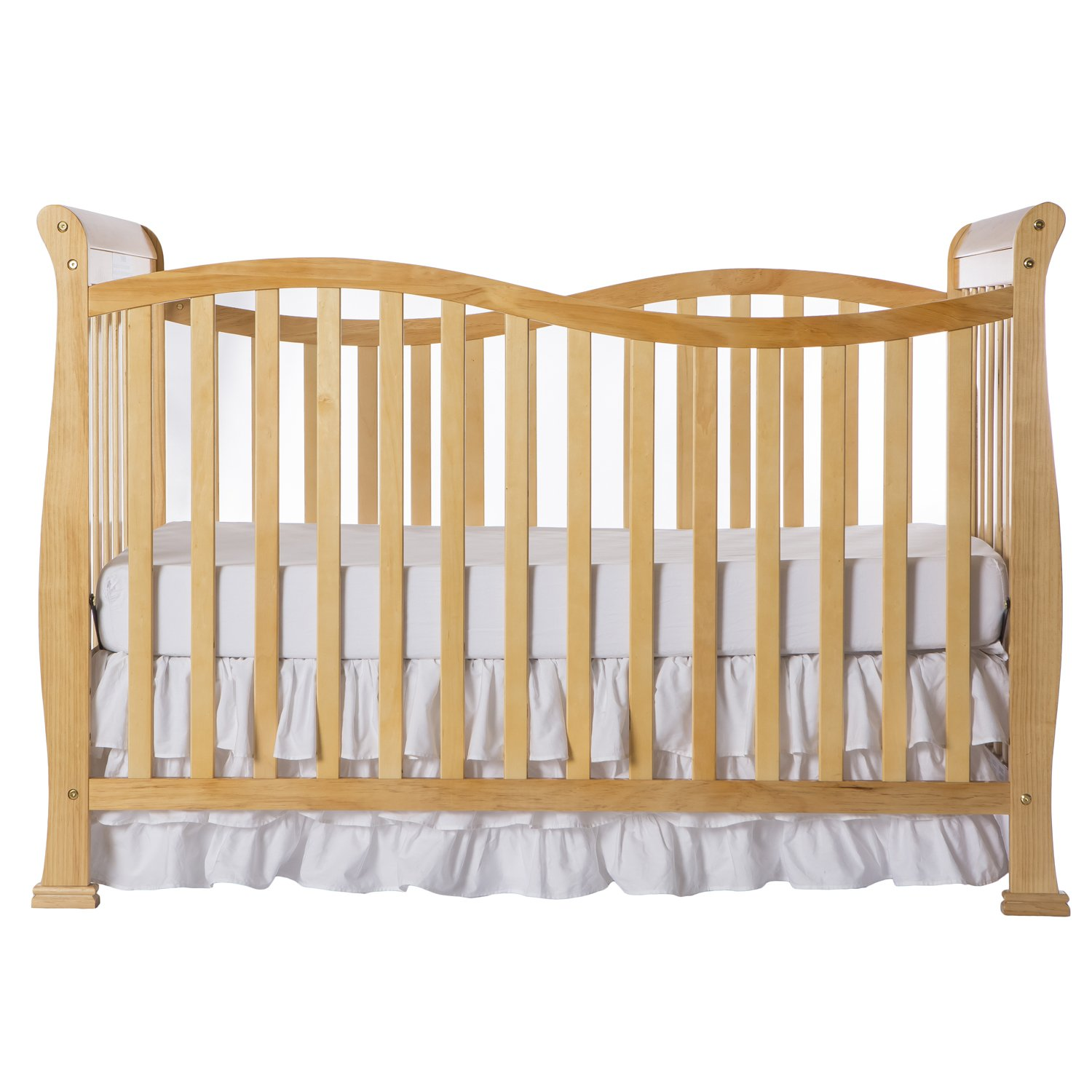 Dream On Me Violet 7 in 1 Convertible Life Style Crib, Natural by Dream On Me (Image #1)