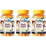 SPECIAL OFFER 3x ActiKid Magic Beans Multi-Vitamin 90x Orange Flavour, Gelatine free