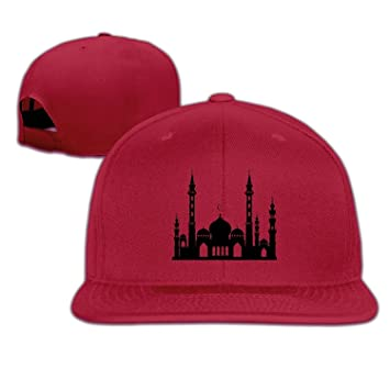 65dd28a397f 4USPORT Turkey - Sultan Ahmed Mosque.PNG Adjustable Snapback Hat For Unisex  - Ash
