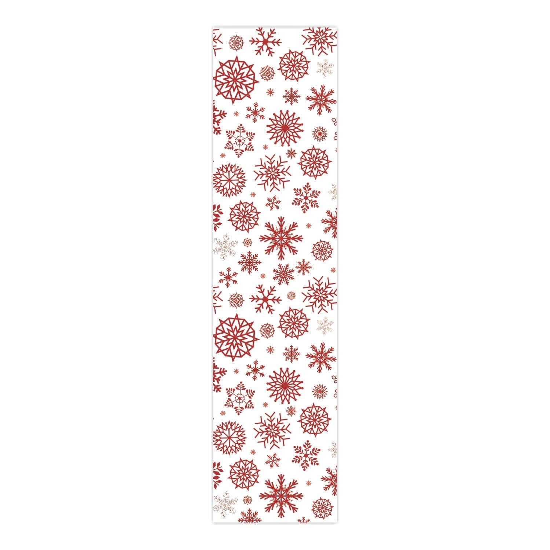 Giftsmate クリスマスデコレーション テーブルランナー クロスカバー クリスマス 雪の結晶   B07KRC5BJ5