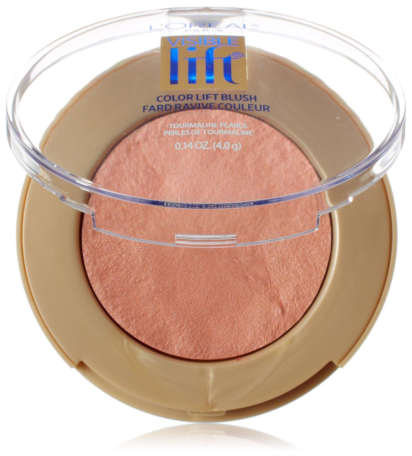 L'Oreal Paris Visible Lift Color Lift Blush, Rose Gold Lift, 0.14 Ounces L'Oreal Paris K1290000