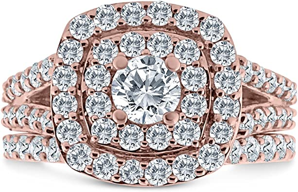 Inara Diamonds BRDL2106 10k RG product image 9