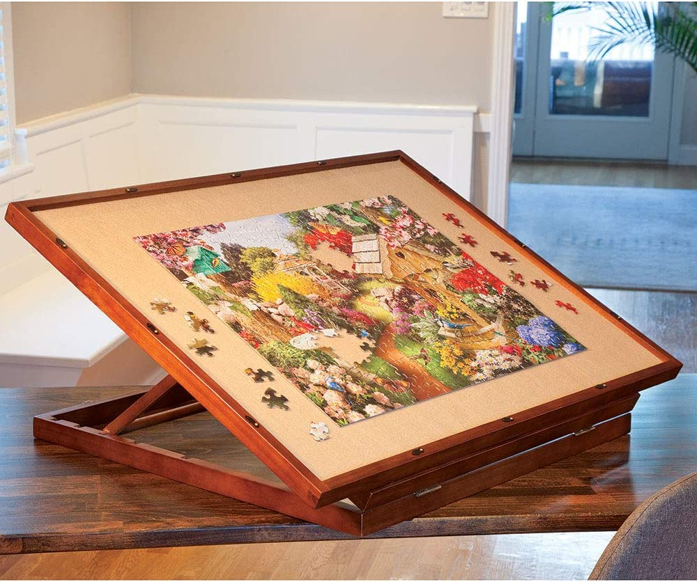 Deluxe Swivel Puzzle Easel Board Jigsaw Table Accessory ...