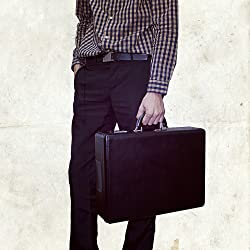 Briefcase Style Portable Record Player